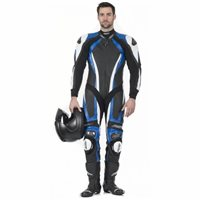 RST Pro Series CPX-C One Piece Leathers (Blue/White)