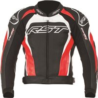 RST TRACTECH EVO II Leather Jacket (Red)