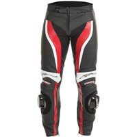 RST TracTech EVO II Leather Trousers (Red) - 1444