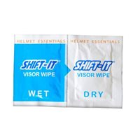 Shift It Visor Wipes Set, Wet & Dry