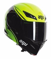 AGV COMPACT COURSE Flip Front Helmet (Yellow/Black)
