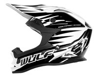 Wulfsport Cub Advance Kids Moto-X Helmet (Black)