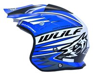 Wulfsport Tri-Action Helmet (Blue)