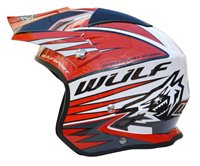 Wulfsport Tri-Action Helmet (Red)