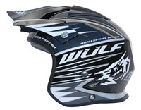 Wulfsport Tri-Action Helmet (Black)