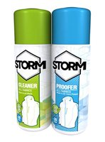 Storm Cleaner / Waterproofer Twin Pack 75ml (Recommended For Rukka)