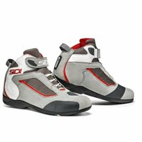 Sidi Gas Motorcycle Boots (White/Grey)