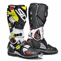 Sidi  Crossfire 2 SRS Motocross CE Boots (White/Black/Fluo) - Special Order