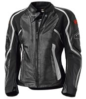 Held Namiko Womens Leather Motorcycle Jacket (Black)