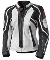 Held Namiko Womens Leather Motorcycle Jacket (White)