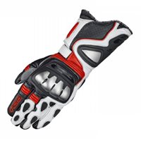 Held Titan Evo Motorcycle Gloves (Red/White)