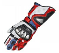 Held Titan Evo Motorcycle Gloves (White/Red/Blue)