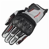Held Sambia Enduro Motorcycle Glove (Black/Grey/Red)