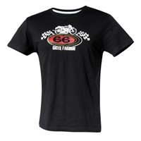 Held T-Shirt 66 Biker Fashion (Black)