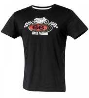 Held Ladies T-Shirt 66 Biker Fashion (Black)