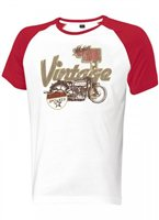 Held Vintage T-Shirt (White/Red)