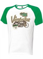 Held Vintage T-Shirt (White/Green)