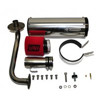 HammerHead GTS 150 Performance Air, Exhaust & Rollers Kit