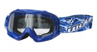 Wulfsport Cub Abstract Kids Goggles (Blue)