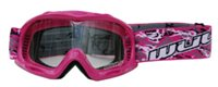 Wulfsport Cub Abstract Kids Goggles (Pink)
