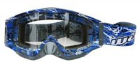 Wulfsport Abstract Goggles (Blue)