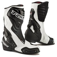 TCX S-Speed Motorcycle Boots (White/ Black)