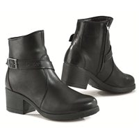 TCX X-BOULEVARD Ladies Waterproof Motorcycle Boots (Black)