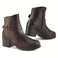 TCX X-BOULEVARD Ladies Waterproof Motorcycle Boots (Brown)