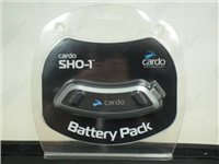 Cardo Scala Rider Shoei Intercom SHO-1 Battery Pack