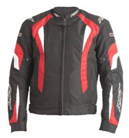 RST R-16 Textile Motorcycle Jacket 1061 (Red)