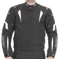 RST R-16 Textile Motorcycle Jacket 1061 (White)