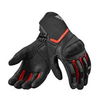 Revit Striker 2 Motorcycle Gloves (Black-Red)
