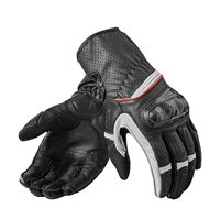 Revit Motorcycle Gloves Chevron 2 (Black/White)