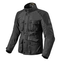 Revit Motorcycle Jacket Zircon (Black)