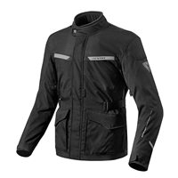 Revit Motorcycle Jacket Enterprise (Black)