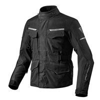 Revit Motorcycle Jacket Outback 2 (Black)