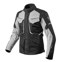 Revit Motorcycle Jacket Safari 2 (Black/Silver)