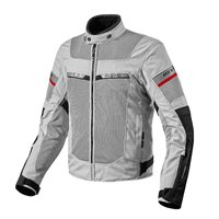 Revit Motorcycle Jacket Tornado 2 (Silver/Black)