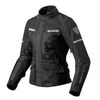 Revit Ladies Motorcycle Jacket Outback 2 (Black)
