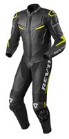 Revit One Piece Leathers Masaru (Black/Neon Yellow)