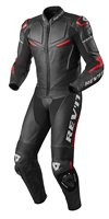 Revit One Piece  Leathers Masaru (Black/Red)
