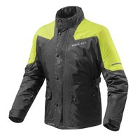 Revit Rain Jacket Nitric 2 H2O (Black/Neon Yellow)