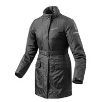 Revit Rain Jacket Topaz H2O Ladies (Black)
