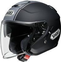 Shoei  J-Cruise CORSO TC-10 Open Faced Helmet (Black/Grey)