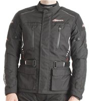 RST Tour Master II Textile Motorcycle Jacket 1708 (Black)