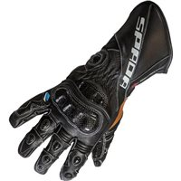 Spada Predator II Motorcycle Gloves (Black)