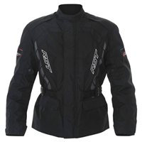 RST Alpha IV Textile Motorcycle Jacket 1726 (Black)