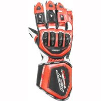 RST Tractech Evo Motorcycle Gloves 2579 (Flo Red)