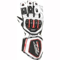 RST Tractech Evo Motorcycle Gloves 2579 (White)