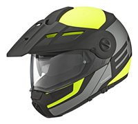 Schuberth E1 Flip Front Motorcycle Helmet (Guardian Yellow)**20% Off Matching Intercom System**